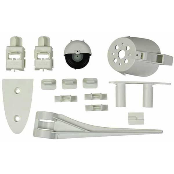 Multiplex Set of Plastic Parts for Fuselage & Tail